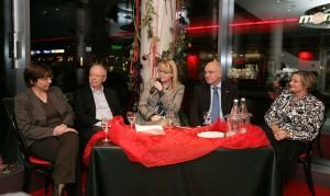 Christine Walz, Günther Cramer, Petra Nagel, Prof. Dr. Rolf-Dieter Postlep und Prof. Dr. Heidi Müller (v.l.). Foto: Jörg Lanthelmé