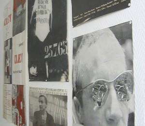 Blick ins Harry Kramer Archiv: Dokumente aus allen Phasen seines künstlerischen Schaffens. Foto: Jan Hendrik Neumann