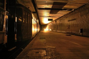 Die Straßenbahnunterführung am Kasseler Hauptbahnhof ist seit Jahren stillgelegt, existiert aber noch. Foto: Kappmeyer