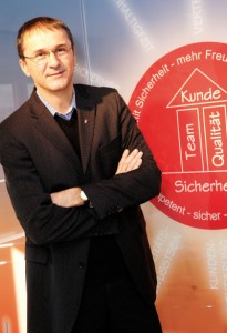 Matthias Krieger setzt auf begeisterte Mitarbeiter und begeistert so auch seine Kunden. Foto: Mario Zgoll