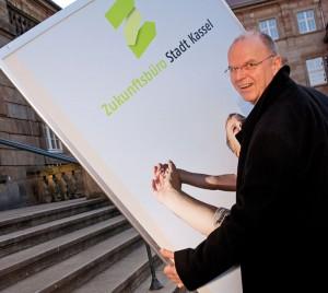 Ullrich Bieker, Leiter der Zukunftsbüros in Kassel. Foto: Mario Zgoll