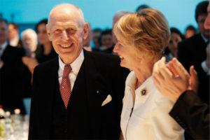 Ludwig Georg Braun mit Ehefrau Ilona. Foto: Mario Zgoll