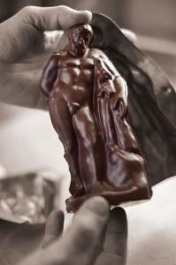 Der berühmte Herkules aus Schokolade. Foto: nh