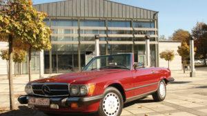 Mercedes Benz 560 SL –  ein Traum aus Kalifornien