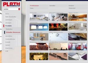 """Unter dem Motto """"Sie geben uns den Raum für Einrichtungsideen""""  werden 400 Quadratmeter Ausstellungsfläche an der Markthalle nun virtuell ergänzt. Screenshot: nh"""