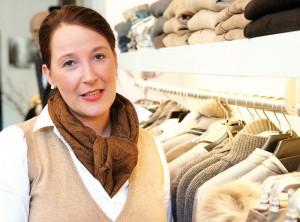 Modeexpertin Marion Tauer. Foto: Mario Zgoll