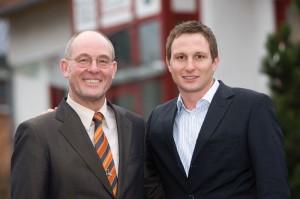 Die Richter-Geschäftsführer Bernd und Christian Schmitt (v.l.). Foto: nh