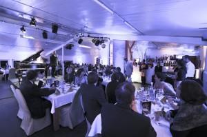 Gut besucht war die STAR CARE Nacht im Fliegenden Headquarter von Chrstioph Brand. Foto: nh