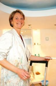 Farb- und Raumgestalterin Gabriela Wolf. Foto: Mario Zgoll