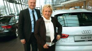 Greifbare Ergebnisse: Audi Zentrum auf neuem Dienstleistungsniveau