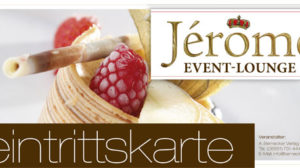 Seien Sie Gast auf der 1. Jérôme-Event-Lounge im Schlosshotel Kassel