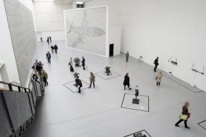 Installationen von Thomas Bayrle in der documenta-Halle. Foto: Mario Zgoll