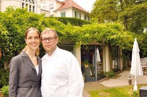 Der neue Pächter Eduard Jaisler mit seiner Lebensgefährtin Sabrina Schoregge. Foto: Mirko Konrad