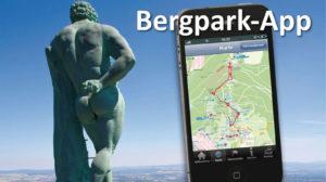 Bergpark-Informationen bequem als App