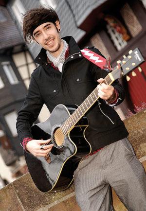 Christian Durstewitz ist leidenschaftlicher Musiker und Realist. Foto: Mario Zgoll