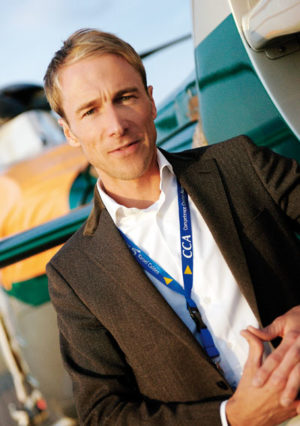 Dr. Matthias Jahnke ist Projektkoordinator des Competence Center Aerospace (CCA). Foto: Mario Zgoll