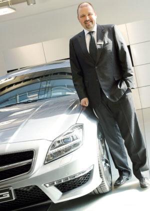 Lars Pauly, neuer Direktor der Mercedes-Benz Niederlassung Kassel/Göttingen. Foto: Mario Zgoll