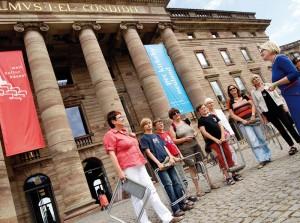 Das sagenhafte Wilhelmshöhe verspricht der art salon den Kunst- und Kulturinteressierten. Foto: Mario Zgoll
