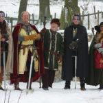 Sorgen für spannende Unterhaltung: die Reinhardswälder Highländer. Foto:nh