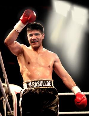 Der Kasseler Boxer Mohammad Rasuli. Foto: nh