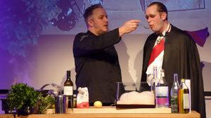 Cook & Comedy: Gelungene Premiere mit Martin Sierp