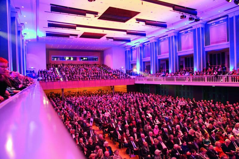 Blick in den Festsaal. Foto: Andreas Weber
