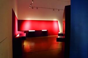 Blick in die laufenden Umbauarbeiten in der documenta-Halle. Foto: Mario Zgoll