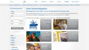 KVG-Sonderseiten zum Hessentag im Internet