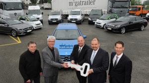 Mercedes-Benz macht Hessentag 2013 mobil