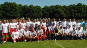 Stavo-Kicker und Landtagself spielten für guten Zweck