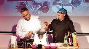 Kochen mit Christoph Brand und Stefan Marquard