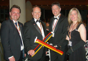 Björn Bauer, Christian Ullrich, Stephan Moers und Frauke Syring. Foto: nh