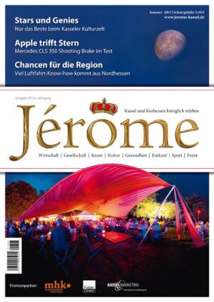 Der Titel des neuen Jérôme. Quelle: Bernecker