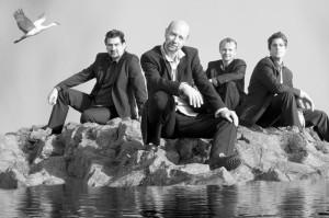 Rolf Denecke, Edgar Knecht, Stephan Emig und Tobias Schulte (v.l.). Foto: Klinger, Eisenlohr