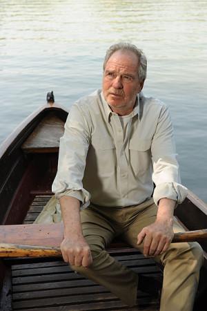 """Hemingways Novelle """"Der alte Mann und das Meer"""" wird von Friedrich von Thun rezitiert. Foto: Kultursommer Nordhessen"""