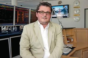 Heiko Lorenz, Niederlassungsleiter der I.C.M. InvestmentBank in Kassel. Foto: Mario Zgoll