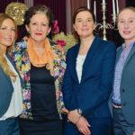 Die neue Präsidentin und ihr Team: Alexandra Macha, Laura B. Luther, Antje Dittmar und Kathrin Bode (v.l.). Foto: Markus Frohme
