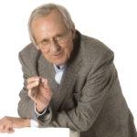 Dieter Hildebrandt erhält den Kasseler Kulturpreis für grotesken Humor. Foto: Daniel Schäfer