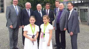 Evangelische Bischöfe und Kirchenpräsidenten besuchen EXPEDITION GRIMM
