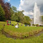 Verzaubert Tausende Besucher:  die Wasserfontäne im Bergpark Wilhelmshöhe. Foto: Andreas Weber