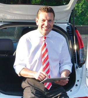 Ulrich Fischer, Geschäftsführer E.ON Mitte Vertrieb. Foto: nh