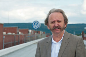 Rudi Stassek, Pressesprecher Volkswagenwerk Kassel. Foto: nh