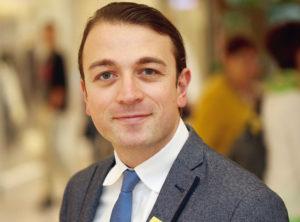 Alexandru Gavrilliu, Centermanager dez. Foto: privat
