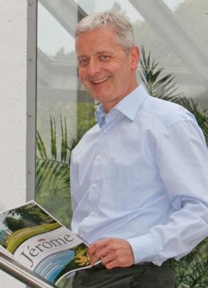 Jérôme-Herausgeber Conrad Fischer. Foto: nh