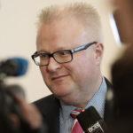 Hessens Finanzminister und Aufsichtsratsvorsitzender des Flughafens Kassel-Calden Dr. Thomas Schäfer. Foto: Mario Zgoll