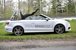 Audi A3 Cabriolet. Foto: Bernd Schoelzchen