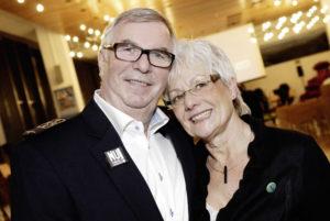 Hans-Jochem Weikert mit  Ehefrau Karola. Foto: Mario Zgoll