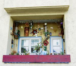 Irgendwo zwischen bayerischem Vorzeige-Flair und skurrilem Ruhrgebiet-Charakter: Die Eindrücke, die auf den unvoreingenommenen Besucher Bettenhausens warten, sind so ambivalent wie das Leben im Stadtteil selbst. Foto: Ralph Krum