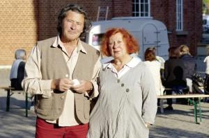 Ein starkes Duo: die Theater- macher Werner und Helga Zülch. Foto: Mario Zgoll