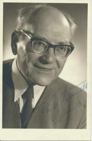 Willy Schmidt, der Zisselvadder. Foto: Stadtarchiv Kassel, E 2, Nr. 459, Langhammer